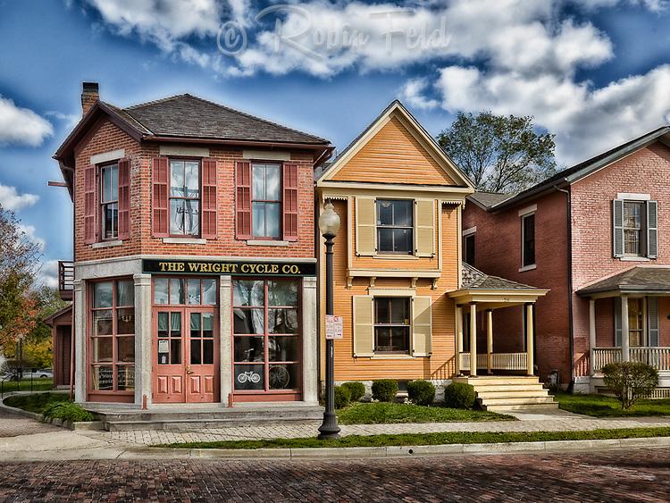 Wright Brothers Cycle Shop, Historic site and landmark, Dayton Ohio