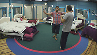 Celebrity Big Brother 2017<br /> Karthik Nagesan, Paul Danan<br /> *Editorial Use Only*<br /> CAP/KFS<br /> Image supplied by Capital Pictures