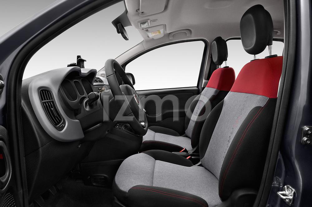 Front seat view of 2017 Fiat Panda Lounge 5 Door Hatchback Front Seat  car photos