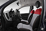 Front seat view of 2017 Fiat Panda Lounge 5 Door Hatchback Front Seat  car photos