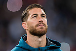 Sergio Ramos of Real Madrid prior to the UEFA Champions League 2017-18 match between Real Madrid and Tottenham Hotspur FC at Estadio Santiago Bernabeu on 17 October 2017 in Madrid, Spain. Photo by Diego Gonzalez / Power Sport Images
