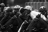 Pix:Michael Steele/SWpix..Horse Racing. .Lester Piggott, Doncastor, 1991...COPYRIGHT PICTURE>>SIMON WILKINSON..Lestor Piggott, Doncastor..