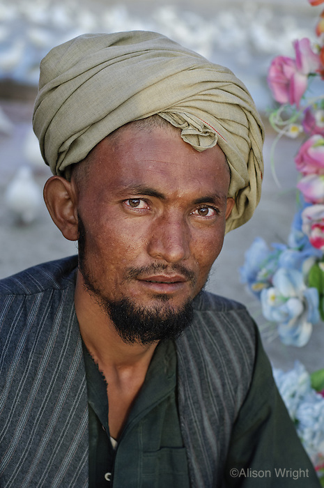 Man in Mazar-E-Sharif, Afghanistan, 2007