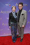 Marin Mazzie and Jason Danieley  attend Broadway Opening Night performance of 'Anastasia' at the Broadhurst Theatre on April 24, 2017 in New York City.