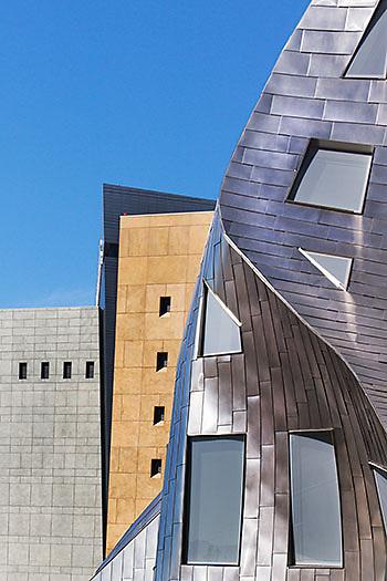 Frank Gehry's Lou Ruvo Brain Center, Las Vegas, Nevada.