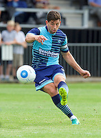 Joe Jacobson of Wycombe Wanderers during the Friendly match between Maidenhead United and Wycombe Wanderers at York Road, Maidenhead, England on 30 July 2016. Photo by Alan  Stanford PRiME Media Images.