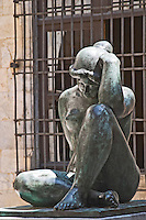 Sculpture by Aristide Maillol. Hotel de Ville. Perpignan, Roussillon, France.