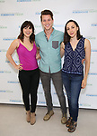 Krysta Rodriguez, Dave Thomas Browna and Lauren Patten attends the Media Day for 33rd Annual Powerhouse Theater Season at Ballet Hispanico in New York City.