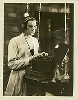 Frankenstein (1931) <br /> Colin Clive<br /> *Filmstill - Editorial Use Only*<br /> CAP/KFS<br /> Image supplied by Capital Pictures