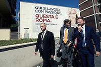 Roma 6 Maggio 2016<br /> Mario Mauro.<br /> Presentazione delle liste a sostegno di Giorgia Meloni a Sindaca di Roma<br /> ROME, ITALY - May 06: <br /> Presentation of the lists in support of Giorgia Meloni to mayor of Rome at the headquarters of the electoral campaign.<br /> on May 6, 2016 in Rome, Italy.