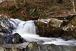 Roger Crowley / CrowleyPhotos.com..A small stream flows over some rocks along Route 2 in Middlesex Vermont..