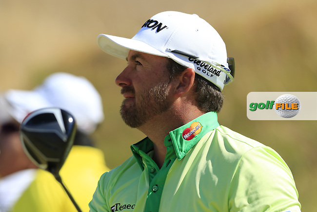 Graeme McDOWELL (NIR) tees off the 7th tee during Friday's Round 2 of the 2015 U.S. Open 115th National Championship held at Chambers Bay, Seattle, Washington, USA. 6/19/2015.<br /> Picture: Golffile | Eoin Clarke<br /> <br /> <br /> <br /> <br /> All photo usage must carry mandatory copyright credit (&copy; Golffile | Eoin Clarke)