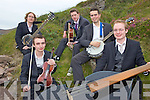 BAND OF BROTHERS: Members of the Castlemaine-based Dr Fox's Old Timey String Band, l-r: Fionn Lavery, Ultan Lavery, Des Sheehan, Brian Corbett, Cormac Lavery.