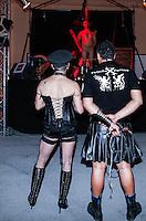 LISBOA, PORTUGAL, 03 DE JUNHO 2012 - SALAO EROTICO DO ATLANTICO - Frequentadores durante o Salao Erotico do Atlantico na Fundicao Oeiras em Lisboa, capital de Portugal neste domingo,3  (FOTO: WILLIAM VOLCOV / BRAZIL PHOTO PRESS).