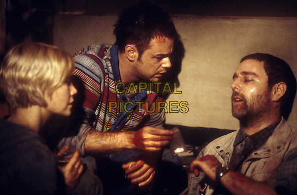 Laura Harris, Danny Dyer and Andy Nyman <br /> in Severance (2006) <br /> *Filmstill - Editorial Use Only*<br /> CAP/NFS<br /> Image supplied by Capital Pictures