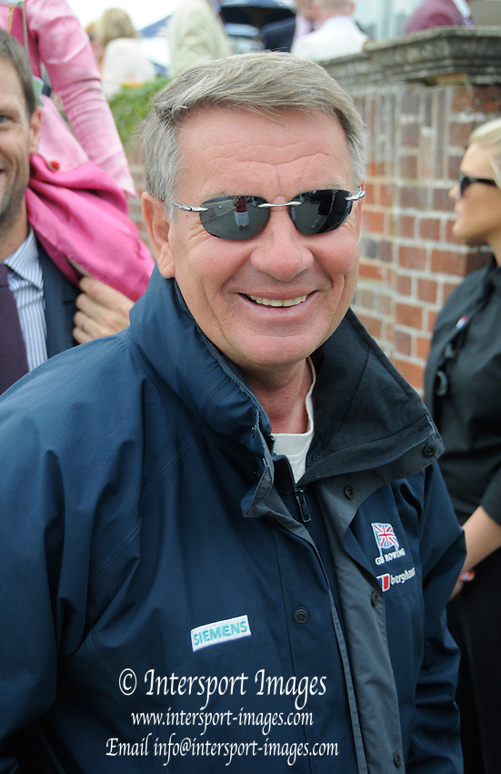 Henley, Great Britain.  Henley Royal Regatta. Jurgen GROBLER OBE, Head Coach, British Rowing. River Thames,  Henley Reach.  Royal Regatta. River Thames Henley Reach. Sunday  13:04:35  03/07/2011  [Mandatory Credit/Intersport Images] . HRR