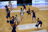 LEEUWARDEN - Basketbal, Donar - Estudiantes, Kalverdijkje, Champions League,  29-09-2017, opkomst spelers in Kalverdijkje