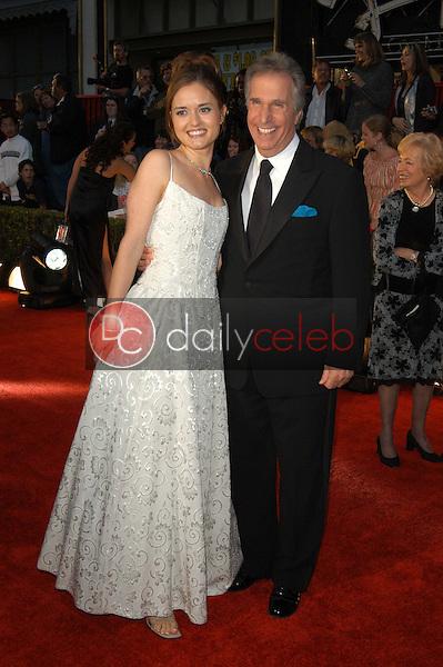 Danica McKellar and Henry Winkler