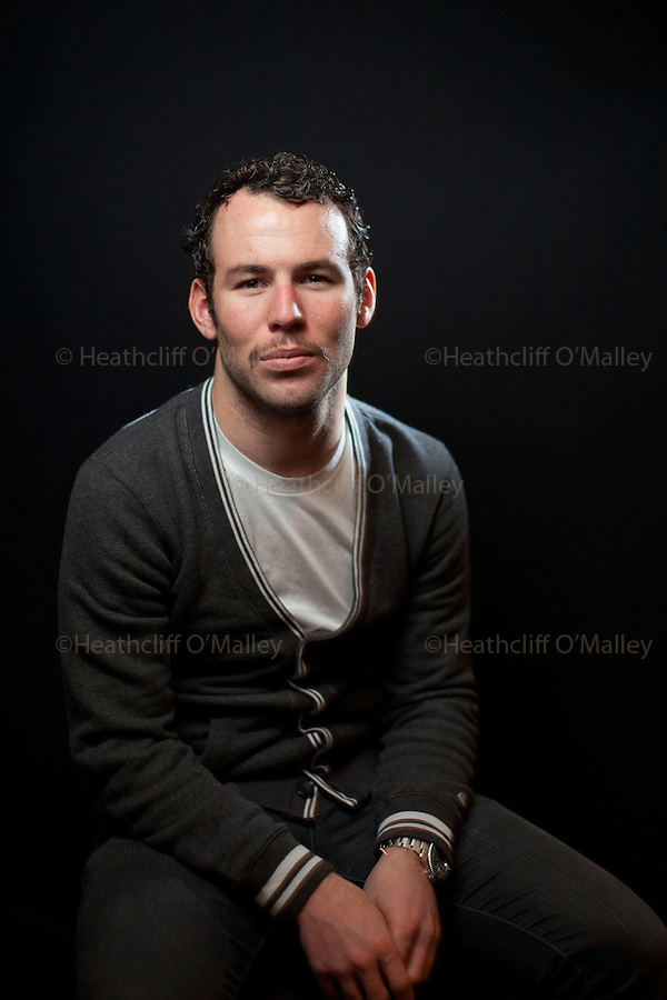 Mcc0036015 . Daily Telegraph<br /> <br /> DT Sport<br /> <br /> Professional Road racing Cyclist Mark Cavendish, who in September of this year became the first British male World Road Race Champion for 46 years . He is a favourite to be awarded this years BBC Sports Personality of the Year in December.<br /> <br /> Epping 24 November 2011