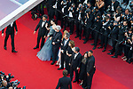 70eme Festival International du Film de Cannes. Montee de la ceremonie de cloture, vues du toit du Palais . 70th International Cannes Film Festival. Vew from rof top of closing red carpet<br />  Smith, Will