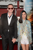 "LOS ANGELES - OCT 8:  Paul Bettany, Jennifer Connelly at the ""Only The Brave"" World Premiere at the Village Theater on October 8, 2017 in Westwood, CA"