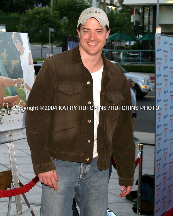 "©2004 KATHY HUTCHINS /HUTCHINS PHOTO.LA PREMIERE OF ""GARDEN STATE"".LOS ANGELES, CA.JULY 20, 2004..BRENDAN FRASER"