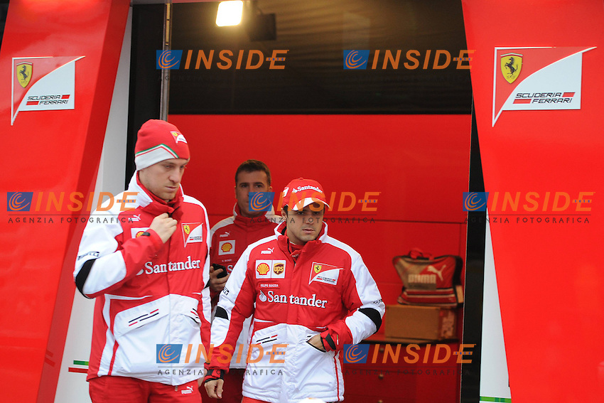 Formula 1: Test  Barcelone  22/02/2013.FELIPE MASSA (BRA) - FERRARI F152 - AMBIANCE PORTRAIT  .Foto Insidefoto / ITALY ONLY