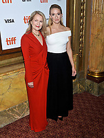 10 September  2018 - Toronto, Ontario, Canada. Bonnie Baer, Olivia Hamilton. &quot;First Man&quot; Premiere - 2018 Toronto International Film Festival at the Elgin Theatre. <br /> CAP/ADM/BPC<br /> &copy;BPC/ADM/Capital Pictures