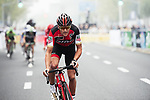 Greg Van Avermaet (BEL) BMC Racing Team in action during the 2017 Tour de France Skoda Shanghai Criterium, Shanghai, China. 29th October 2017.<br /> Picture: ASO/Pauline Ballet | Cyclefile<br /> <br /> <br /> All photos usage must carry mandatory copyright credit (&copy; Cyclefile | ASO/Pauline Ballet)