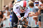 Michall Kwiatkowski (POL) Team Sky in action during Stage 20 of the 104th edition of the Tour de France 2017, an individual time trial running 22.5km from Marseille to Marseille, France. 22nd July 2017.<br /> Picture: ASO/Alex Broadway | Cyclefile<br /> <br /> <br /> All photos usage must carry mandatory copyright credit (&copy; Cyclefile | ASO/Alex Broadway)