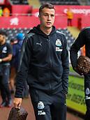 10th September 2017, Liberty Stadium, Swansea, Wales; EPL Premier League football, Swansea versus Newcastle United; Javier Manquillo of Newcastle United arrives at the Liberty Stadium