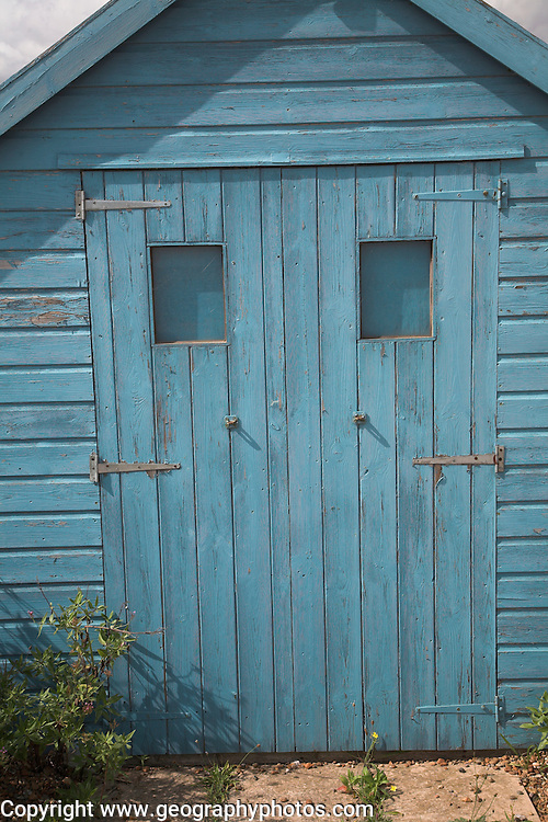 Blue hut, Felixstowe Ferry, Suffolk