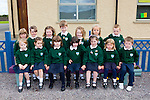 Kilgobnet NS junior infants on their first day of school on Monday front row l-r: Clíonagh Coffey, brooke Curran, Julie Doyle, Katie Moriaty, Isobel Connell-O'Shea, Aoife O'Sullivan, Marcus Kissane. Back row: Leanne Doonan, Emma Lynch, Laoise Riordan, Dara Sheehan, Alicia Coffey, Lauren mcEvoy and Aidan Kissane