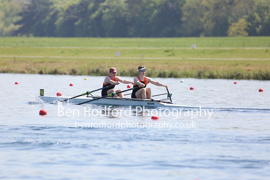 Race: 42  Event: J17 2x  A Final<br /> <br /> Junior Sculling Regatta 2018<br /> <br /> To purchase this photo, or to see pricing information for Prints and Downloads, click the blue 'Add to Cart' button at the top-right of the page.