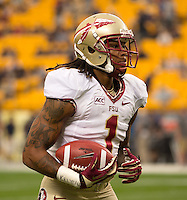 Florida State wide receiver Kelvin Benjamin. Florida State defeated Pitt 41-13 at Heinz Field on September 2, 2013.