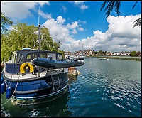 BNPS.co.uk (01202 558833)<br /> Pic: Strutt&amp;Parker/BNPS<br /> <br /> Easy access to the open sea...<br /> <br /> Hello Sailor? - The perfect seaside residence for a lover of the sea.<br /> <br /> A luxury harbourside home with its own private dock in the back garden has launched on to the market - but you'll need a pirates treasure to afford it.<br /> <br /> &pound;3.4million Wharf House is located in one of the country's best sailing communities in Emsworth, Hants, and is surrounded by water.<br /> <br /> From the front it has spectacular views over Chichester Harbour and at the back there is a mooring space for a large boat.