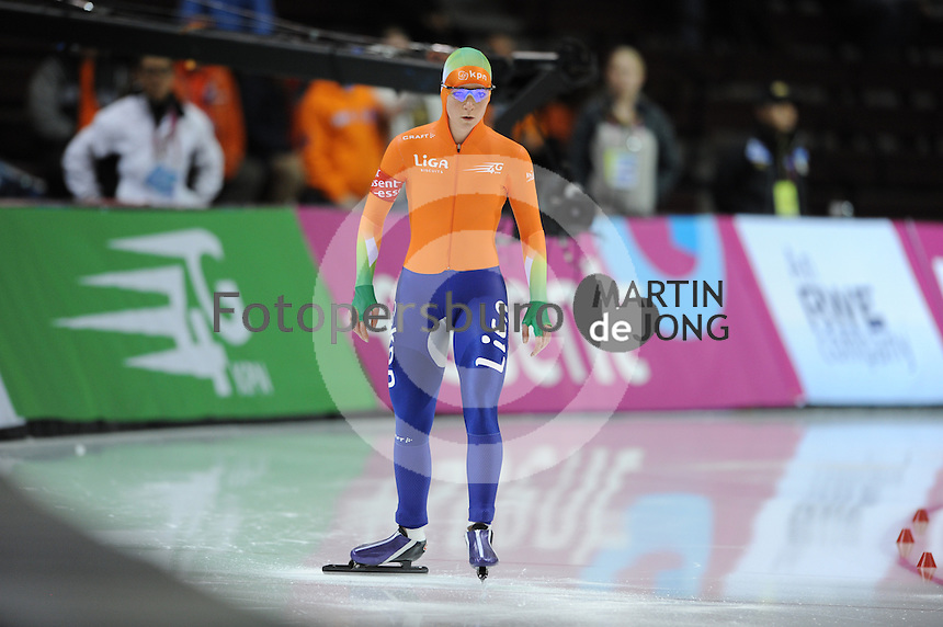 SCHAATSEN: SALT LAKE CITY: Olympic Oval, 27-01-2013, Seizoen 2012-2013, Essent ISU WK sprint, ©foto Martin de Jong