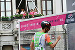 Sign on before the start of Stage 15 of the 2018 Giro d'Italia, running 156km from Tolmezzo to Sappada, Italy. 20th May 2018.<br /> Picture: LaPresse/Gian Mattia D'Alberto | Cyclefile<br /> <br /> <br /> All photos usage must carry mandatory copyright credit (&copy; Cyclefile | LaPresse/Gian Mattia D'Alberto)