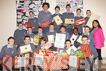 CBS the Green, Tralee students council members and Ms Hayes 2nd year students who organised a food collection for novas homeless on Friday.shelter. Front row: Oliver O'Mahony, Joseph Kavanagh, Ben O'Neill, Brendan O'Donovan and Keith Hanafin.Middle Row: Jack McGaley, David O'Brien, Jake Foley, Hugh Stuart, Robert Touhy, Segun Duyile, Sean Hanafin Ms O'Dwyer.Back row: Derek Horgan, Ultin Dillane, Donagh Sugrue, Shane Walsh, Dylan Hartnett and David Pula.. .