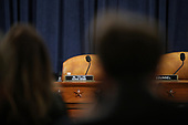 The podium for United States Representative Doug Collins (Republican of Georgia), Ranking Member, US House Judiciary Committee is seen before constitutional scholars testify before the US House Judiciary Committee in the Longworth House Office Building on Capitol Hill December 4, 2019 in Washington, DC. This is the first hearing held by the Judiciary Committee in the impeachment inquiry against U.S. President Donald Trump, whom House Democrats say held back military aid for Ukraine while demanding it investigate his political rivals. The Judiciary Committee will decide whether to draft official articles of impeachment against President Trump to be voted on by the full House of Representatives. <br /> Credit: Drew Angerer / Pool via CNP