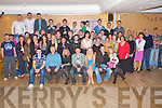 Cathal Hickey, Pinewood Estate, Killarney, pictured with family and friends as he celebrated his 21st birthday in Darby O'Gills hotel, Killarney on Friday night.