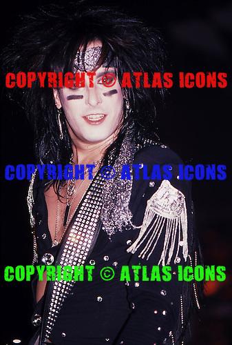 Motley Crue; Live 1985<br /> Photo Credit: Eddie Malluk/Atlas Icons.com