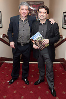 "NO REPRO FEE. 17/1/2010. The Field opening night. Billy Keane and Donal Shields are pictured at the Olympia Theatre for the opening night of John B Keanes 'The Field"" Picture James Horan/Collins"