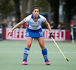 UTRECHT -   Malou Pheninckx (Kampong)  tijdens de hockey hoofdklasse competitiewedstrijd dames:  Kampong-Laren (2-2). COPYRIGHT KOEN SUYK