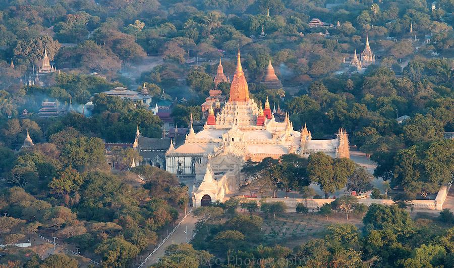 Ananda pagoda, Bagan, Myanmar