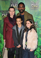Olivia Williams, Rhashan Stone at the OVO by Cirque du Soleil press night, Royal Albert Hall, Kensington Gore, London, England, UK, on Wednesday 10 January 2018.<br /> CAP/CAN<br /> &copy;CAN/Capital Pictures