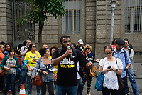 RIO DE JANEIRO, RJ, 06.06.2017 - MANIFESTACAO-RJ - Ato dos servidores estaduais em vigília para a votação do Plano de Ajuste Fiscal e das contas do Estado de 2015 na ALERJ no Rio de Janeiro, nesta terça-feira, 06. (Foto: Clever Felix/Brazil Photo Press)