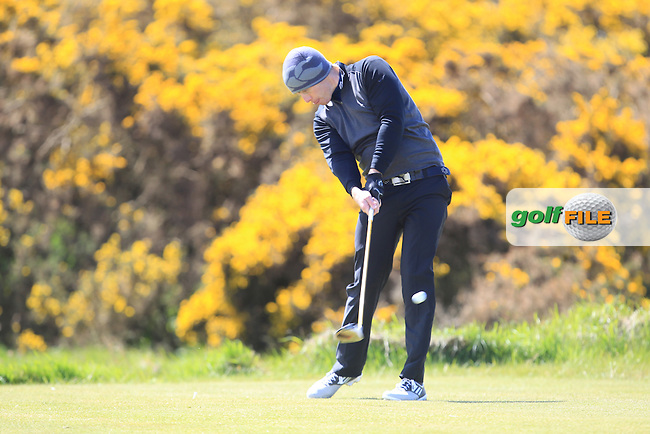 Eoin O'Connor (Kilkenny Golf Club)<br /> playing in the Etihad Airways PGA Sprint at Seapoint Golf club.<br /> Picture:  Fran Caffrey www.golffile.ie