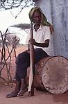 Somali guard , Wajir, Somaliland, Kenya
