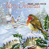 John, CHRISTMAS LANDSCAPE, paintings+++++,GBHSAXS-001B,#XL#